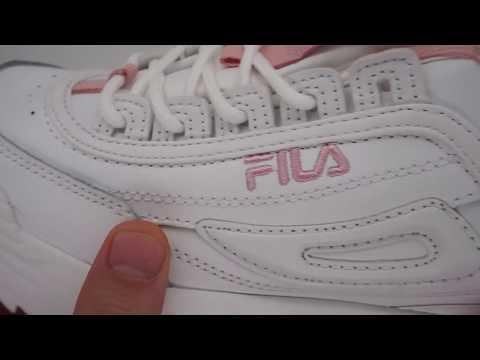 Женские бело-розовые кроссовки FILA Disruptor 2 208afb4573d14