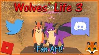 Roblox - Wolves' Life 3 - Fan Art! #13 - HD
