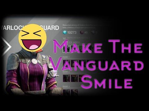 Make The Vanguard Smile!(Part 2) - Destiny