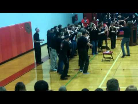 Orting high school homecoming ensemble