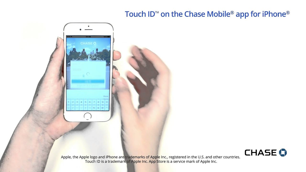 Chase Mobile® App for iPhone® Introduces Touch ID™