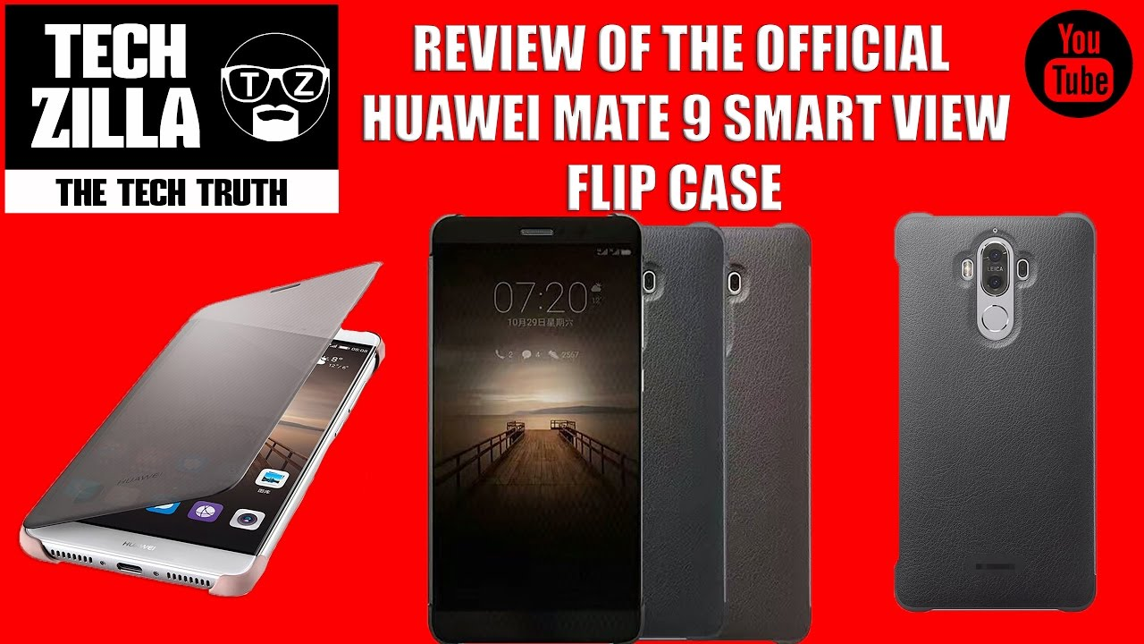 big sale 12bea 006f5 Official Huawei Mate 9 Smart View Flip Case Review