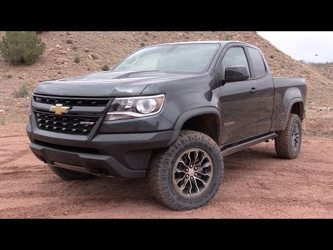 2017 Chevrolet Colorado ZR2: Off Road Review & Road Test