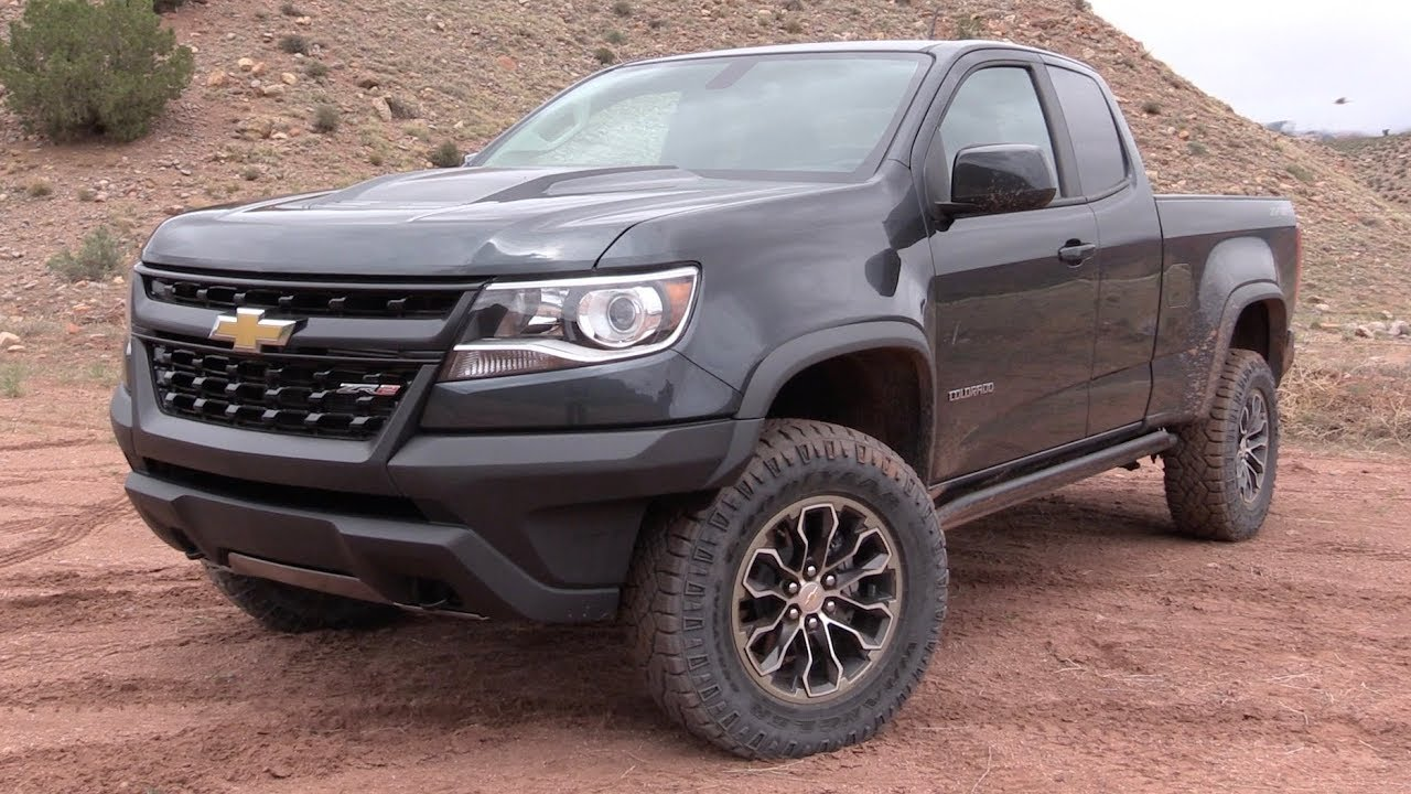 2017 chevrolet colorado zr2 off road review road test. Black Bedroom Furniture Sets. Home Design Ideas