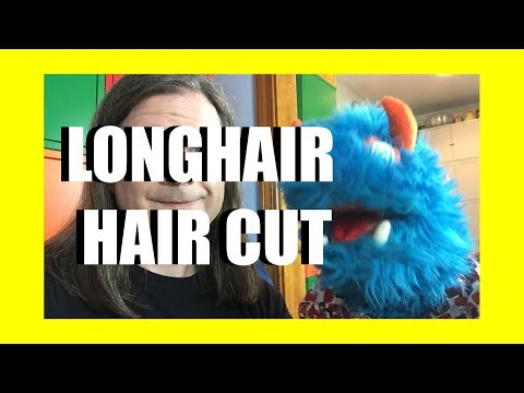 Longhair Haircut (and Puppet Guests!) Livestream
