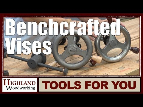 Benchcrafted Glide Leg Vise and Tail Vise Product Tour