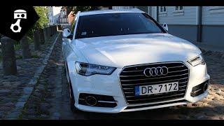 Audi A6 2.0 TDI S-line C7 Avant Тест-драйв; zhmuraTV