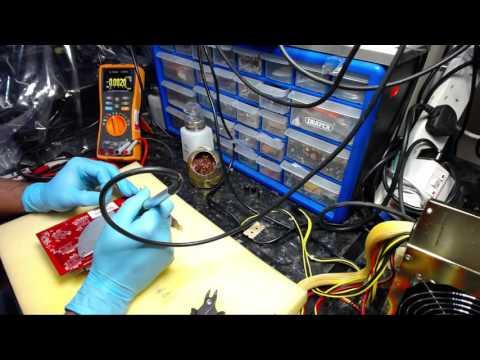 VIDEO CARD REPAIR BADS CAPS POWER ON NO DISPLAY WINDOWS