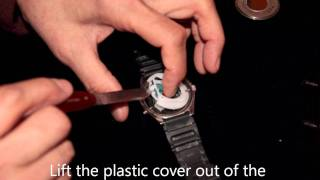 how to change the battery on a casio amw 320r watch