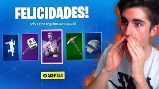 FORTNITE MAKES US THESE 5 FREE GIFTS!! (SKIN, PICO, BAILE, ALA DELTA...) | ByMaxx