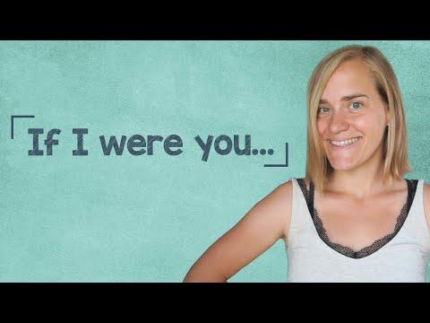 German Lesson (300) - If I were you... - Konjunktiv 2 - Gegenwart vs. Vergangenheit - B1/B2
