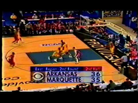 Arkansas vs. Marquette 1996 (NCAA 2nd Round)