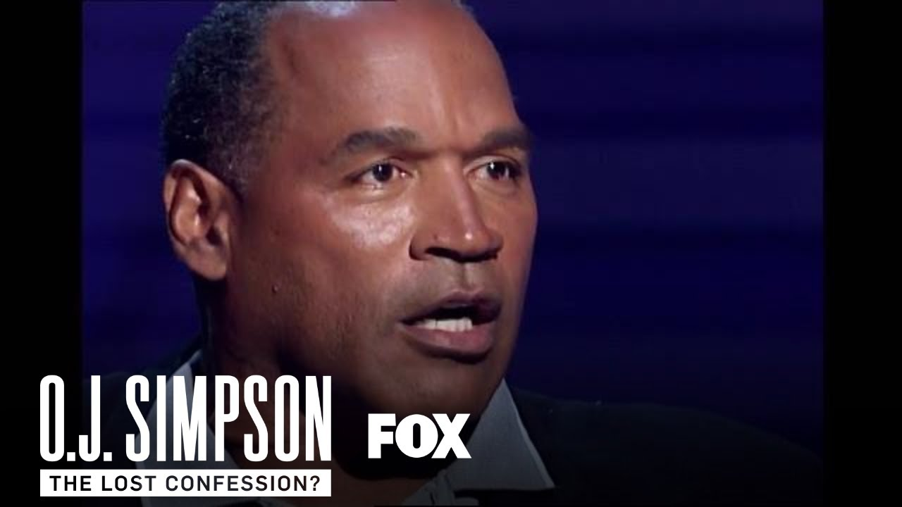 O J  Simpson Describes Bloody Crime Scene In 'The Lost