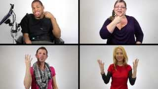 True Colours (by Artists Against Bullying) ASL