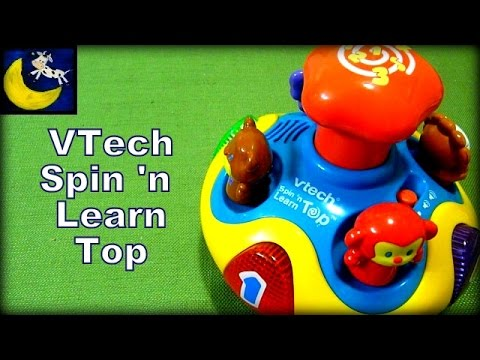 Vtech Spin N Learn Top Review Youtube