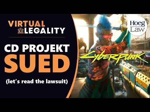 CD Projekt Sued Over Alleged Cyberpunk Lies! Let's Read the Lawsuit! (VL379)