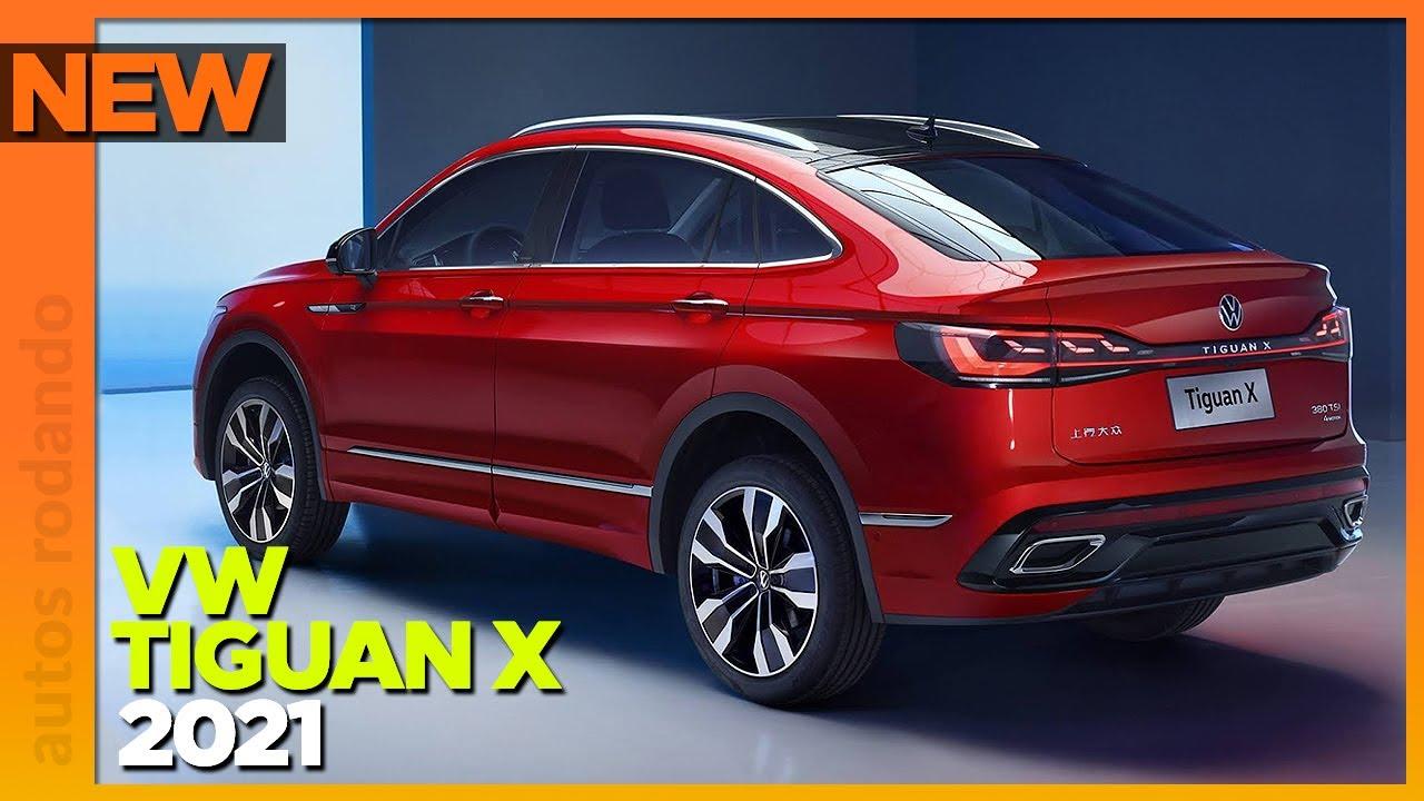 Volkswagen TIGUAN X 2021 es una REALIDAD! - YouTube