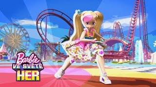 Barbie vstupuje do hry | Barbie Hrdinka Videohry | Barbie