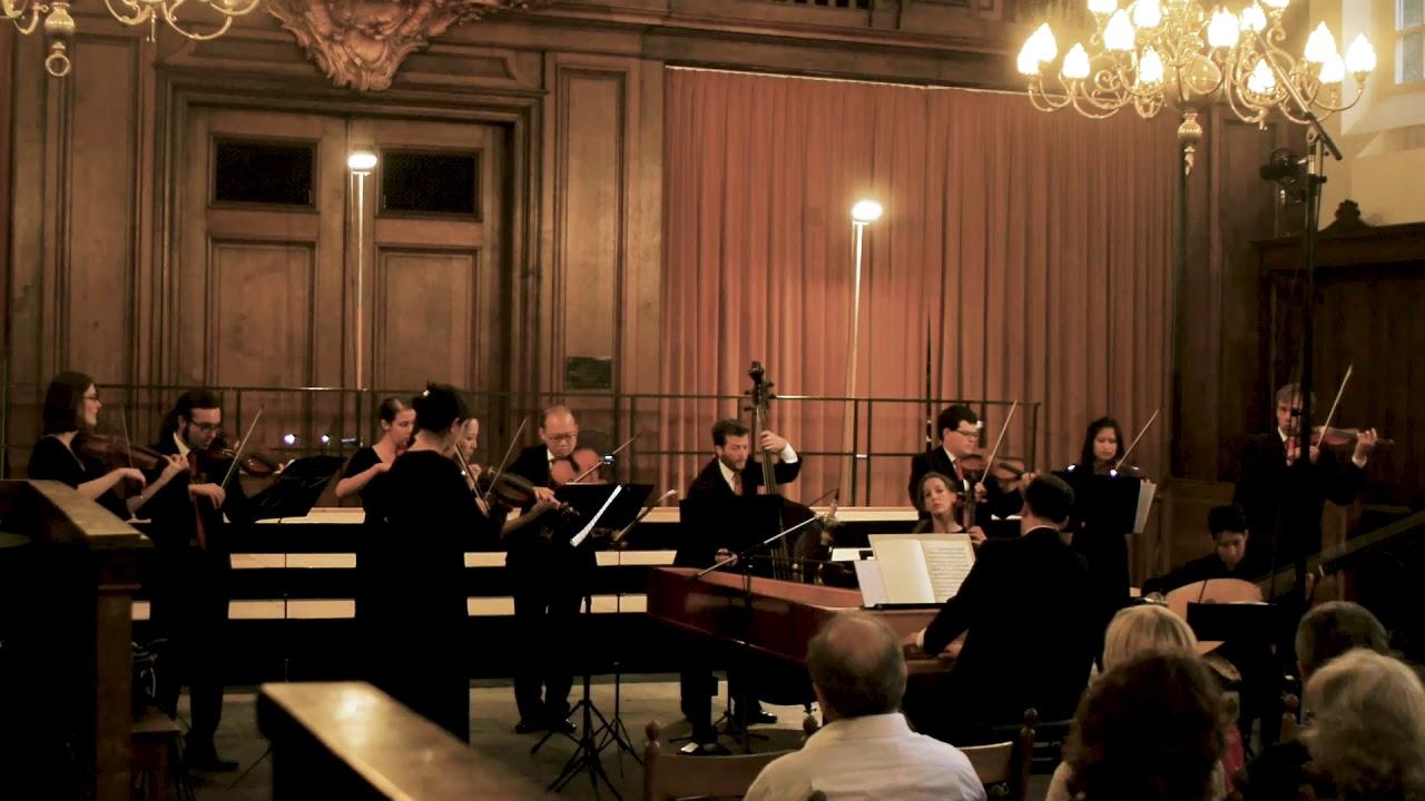NEW COLLEGIUM | Claudio Ribeiro: Dall'Abaco, Concerto Op.2, No.1 - live