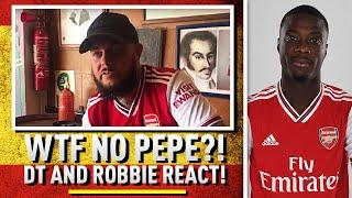 WTF??? No Pepe! (DT & Robbie React) | Barcelona v Arsenal Preview
