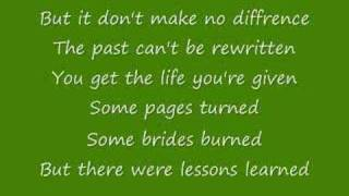 Lessons Learned by Carrie Underwood with lyrics