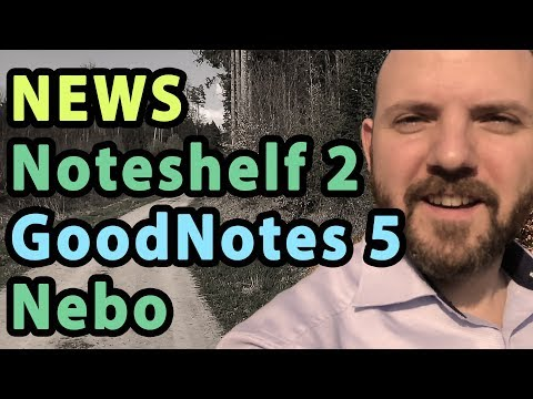 GoodNotes 5 Leaks and Major Updates for Noteshelf 2 + Nebo