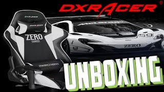 dxracer chair unboxing fe zero series 0h fe00 nw