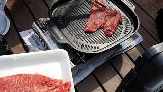연기안나는 가정용 인덕션 가스 겸용 고기 불판 캠핑 철…