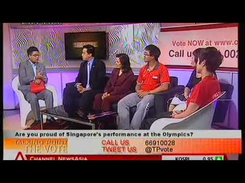 CNA Talking Point The Vote - Singapore Olympic Athletes