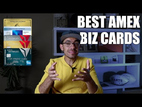Best Amex Business Credit Cards 2019 (How To Apply)