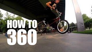 How To Bunny Hop 360 Bmx (Как Сделать 360 С Банни-Хопа) | Школа Bmx Online #6 [Дима Гордей]