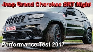 Jeep Grand Cherokee SRT 6,4 Hemi Performance Test