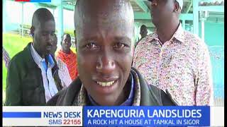 Two children killed in Kapenguria after mudslide, locals advised to move to safer grounds