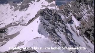 Besteigung Zugspitze von Ehrwald/Tirol, Sommer 2014