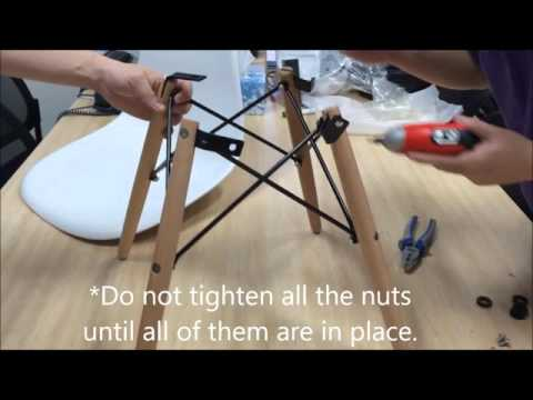Assembly Instructions - Replica Eames Chair