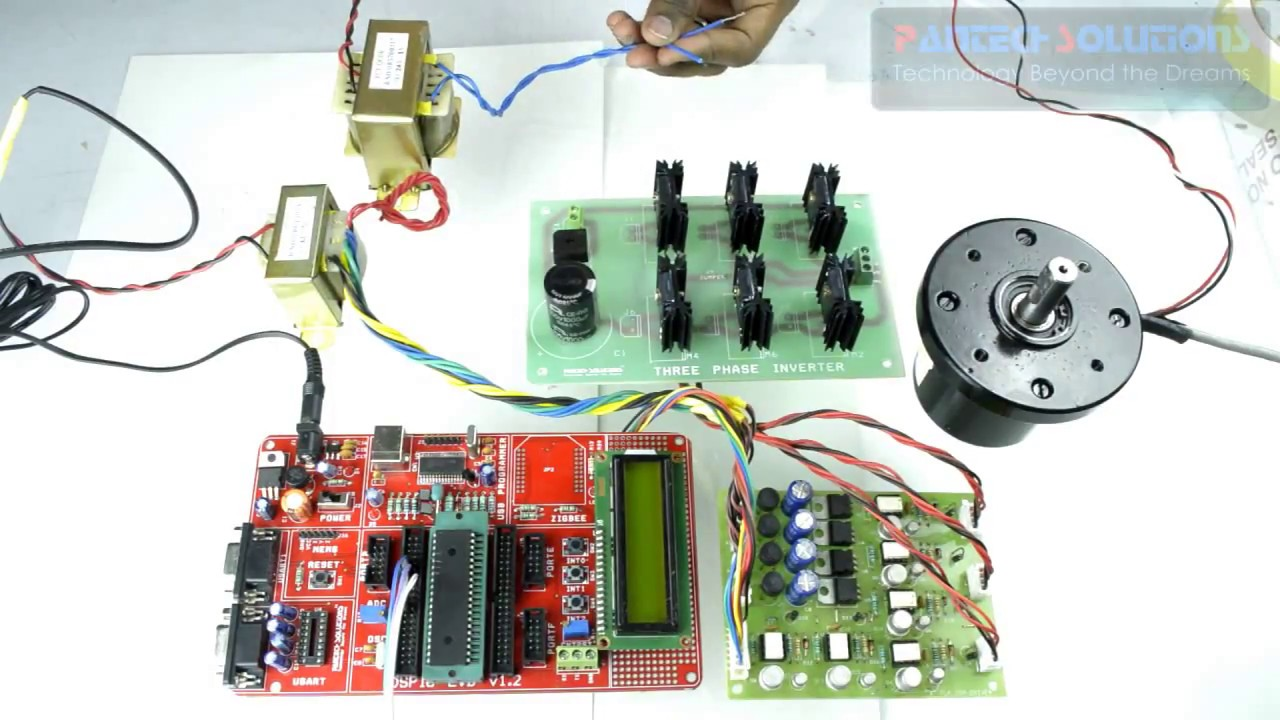 Bldc Motor Speed Control Using Dspic Development Board Youtube Brushless Controller Kit With
