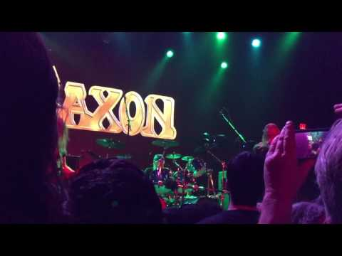 Saxon & UFO Full Concert at Belasco Theater, Los Angeles March 16 2017