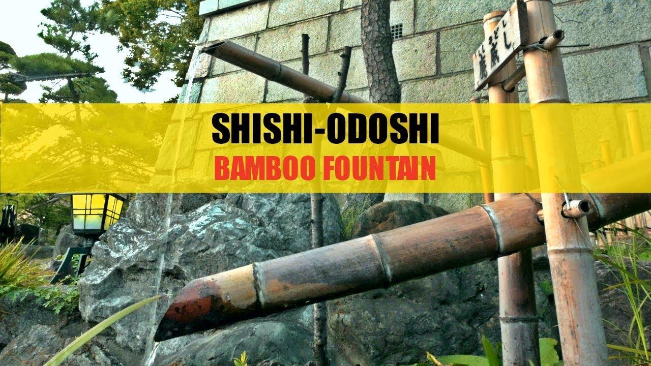Shishi Odoshi Relaxing Japanese Bamboo Fountain