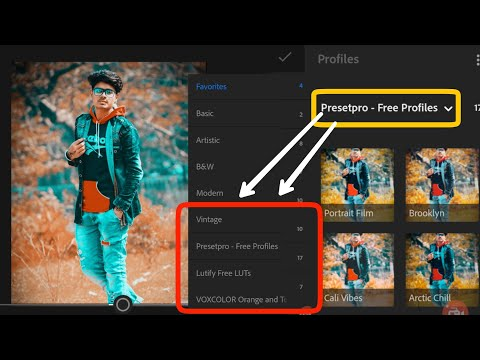 Tiktok Star Aadan team 07 Photo Editing Tutorial || Lr