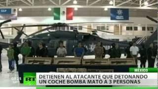 Detienen al presunto coordinador de atentado en Ciudad Juárez