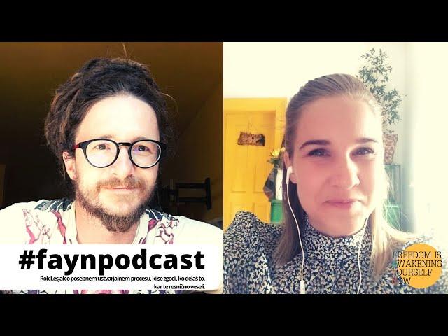 F.A.Y.N. Podcast z Majo Monrue: Rok Lesjak, kreator nakita ROXFLOW o tem, kako ostati na svoji poti