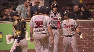 HIGHLIGHT R5 | G4: Brewers prospect Hall nails two-run homer