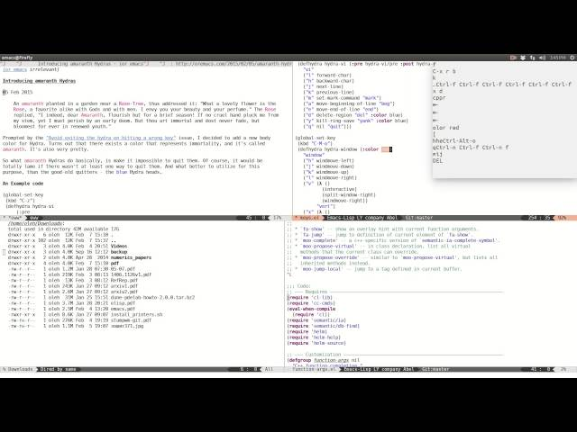 Emacs on Flipboard by David Creemer | Emacs