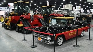 Versatile Legends Edition 2016 4wd Tractors and 1966 Chevy Truck