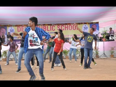 Flash Mob at DPS Nacharam