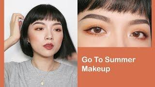 (字幕)全開架!新手也適合的夏季日常妝容????????✨My Go to Summer Makeup