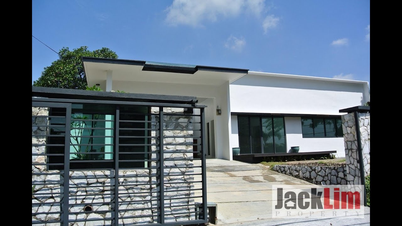 SS1 New Bungalow For Sale RM 2.7 Million, Open U0026 Minimalist Concept    YouTube