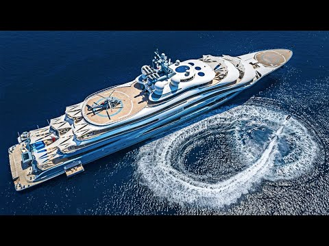 The World's Most Expensive Charter Yacht