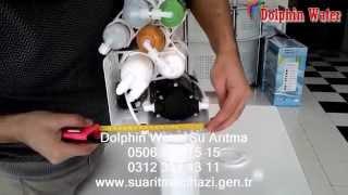 Dolphin Water 9 Aşamalı Su Arıtma Cihazı Filtre Değişimi Videolu Anlatım