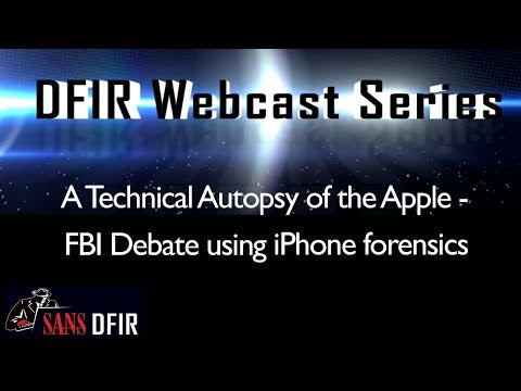 A Technical Autopsy of the Apple - FBI Debate using iPhone f